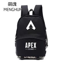 2019 backpack Game APEX legends game fans gift black backpacks schoolbag nylon NB302