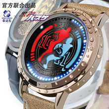 Kuroko no basket anime Kagami waterproof touch screen watch
