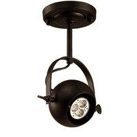תעשייתי שחור יצוק ברזל קיר רכוב מנורת נדנדה זרוע רקע רטרו קיר ספוט פמוטים אור קבועה עבור חנות/חנות /בית-במנורת קיר פנימית LED מתוך פנסים ותאורה באתר