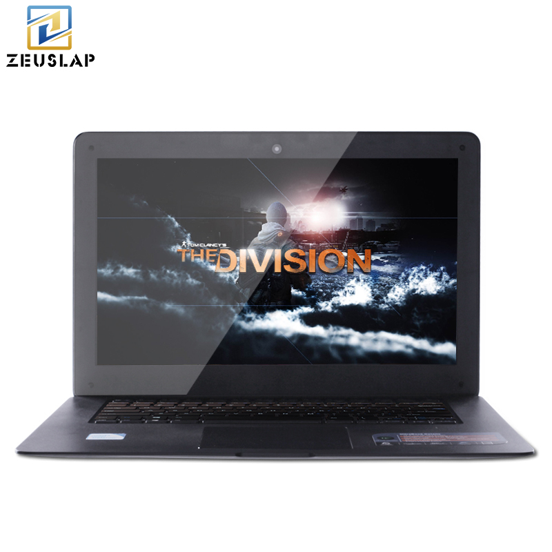 ZEUSLAP A8 Ultrathin 4GB RAM 120GB SSD 1TB HDD Windows 7 10 System Quad Core 1920x1080P