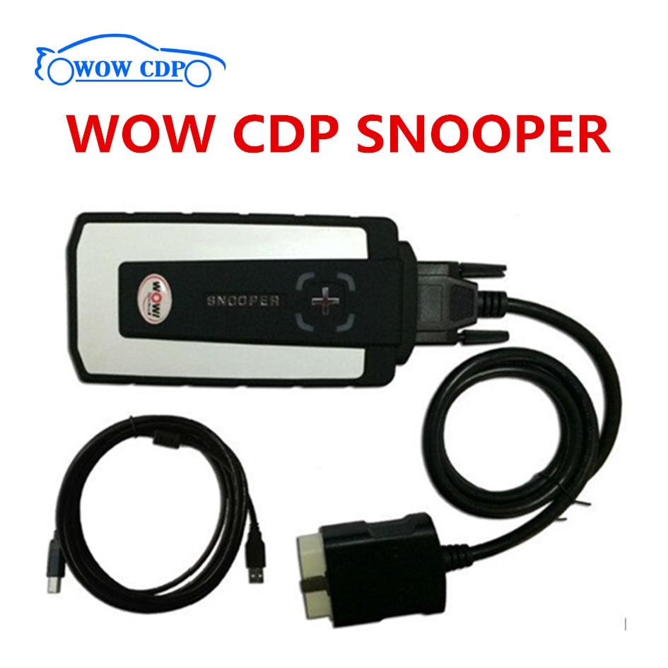 2019 Top Quality Wow Snooper Bluetooth Multi-language V5.008 R2 R3 For Car And Truck Car Diagnostic Tool Better Than Tcs Cdp Pro Car Diagnostic Cables & Connectors Diagnostic Tools