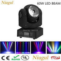High Brightness 60W LED Beam Light Dj Lights 60W Led Moving Head Spot Light Led Linear