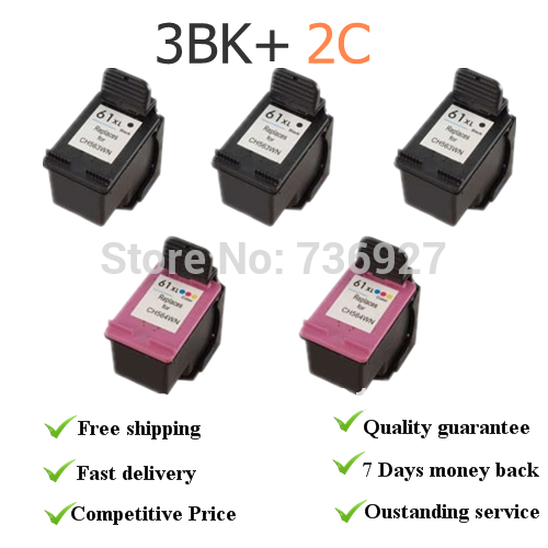 3*61bkx+ 2C  remanufactured Ink Cartridges CH563W CH564W  for HP1000 (J110a)   for hp1050 (J410a)  for hp Deskjet 2000 (J210a) 1pcs tri color remanufactured ink cartridge cc644ee for hp300xl hp300 deskjet d1660 d2500 2560 photosmart c4635 c4680 c4780 4688