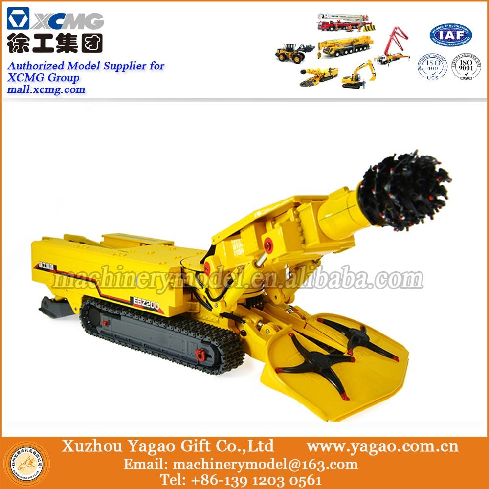 1:50 Scale Model, Diecast, Construction Model, XCMG EBZ200 Road Header Model, Replica ad8138arm ebz programmers development systems mr li