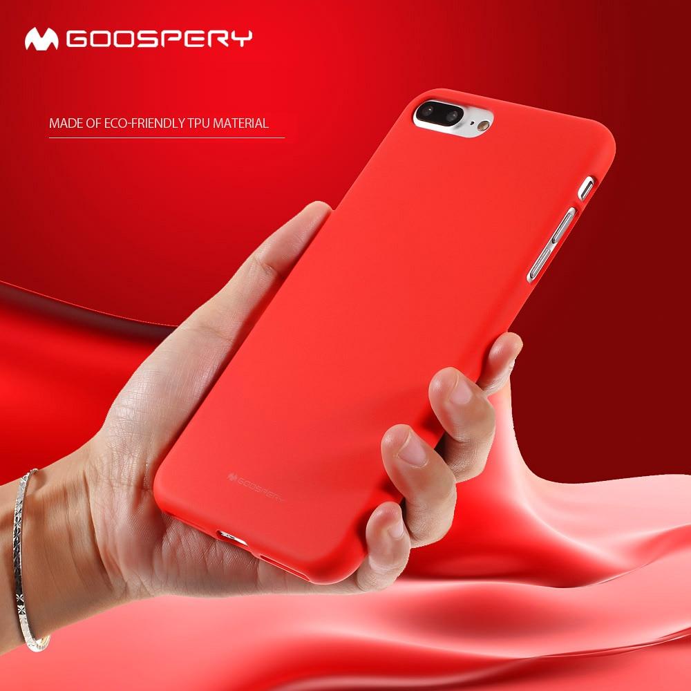 Original Mercury Goospery Color Pearl Jelly Flexible Tpu Soft Cover Iphone 7 Sky Slide Bumper Case Lime For 8 Plus 5s 5 Se 6 6s