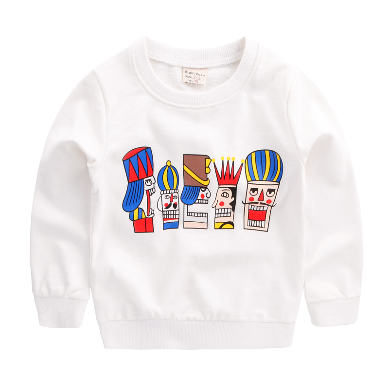 2018 spring kids cotton sweatshirt cartoon children boys clothing baby kids boys girls pullover t shirts casual sportwear