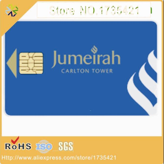 High quality CR80 Size AT24C02 /AT24C16/AT24C64 Chip plastic PVC contact IC name card