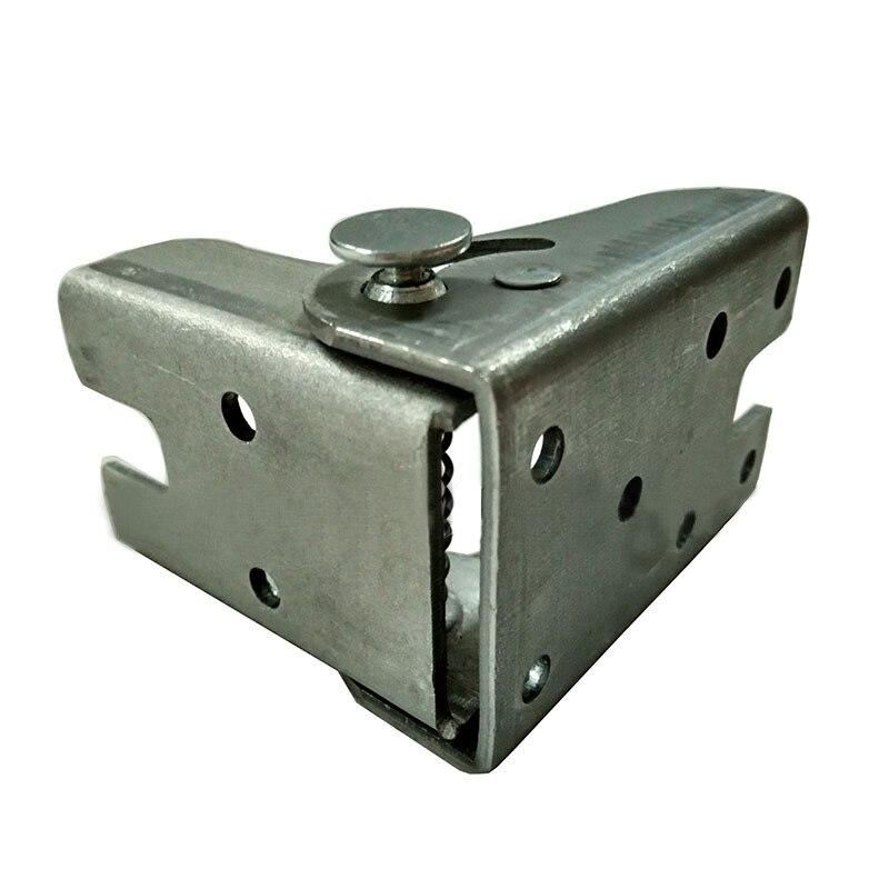 2 шт. цинковый сплав само замок приставной столик кровать ног складной Поддержка кронштейн