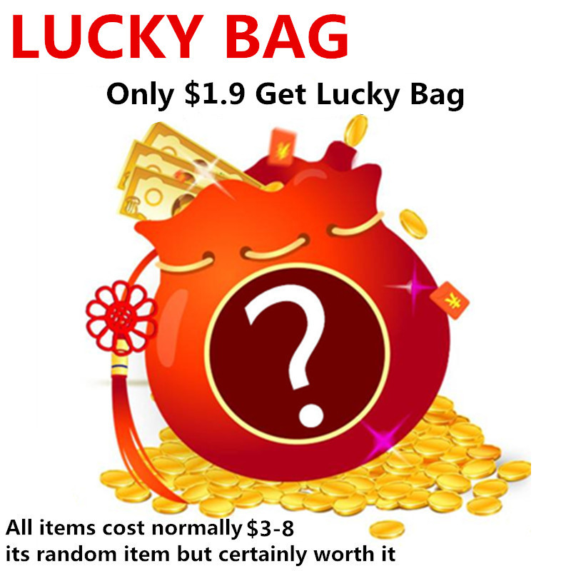 Lucky Bag For Lucky People,Only $0.9 Or $1.9 Get Lucky Bag,You Will Get The Gift Excellent Value For Money