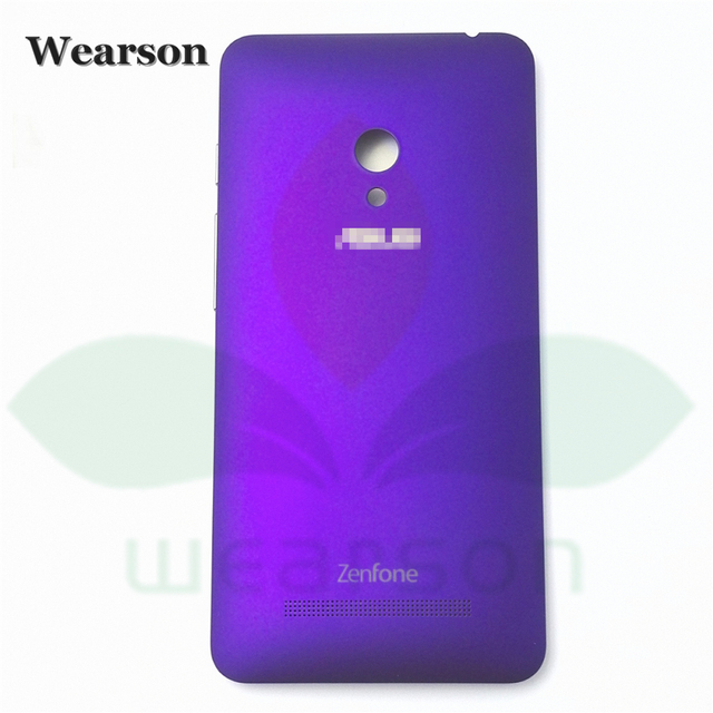 High Quality New zenfone5 Battery Cover For Asus ZenFone 5 Zen Case T00J T00F T00G Back Cover Free Shipping+Tracking Number