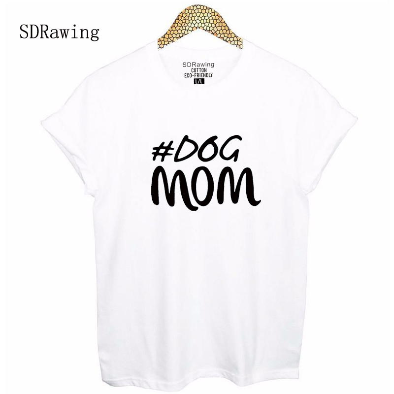 4a8bf2ed Dog Mom Shirt Mothers Day Gift Womens T Shirt Mom Gift Mothers Day Shirt  Dog Shirt Dog Lover Graphic Tees summer tops-in T-Shirts from Women's  Clothing on ...