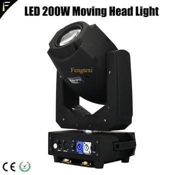 High Power LED 200 W Moving Light Opera Bergerak Kepala Tempat dengan 8 Gobo Rotasi Triple Prisma LED Beam peralatan