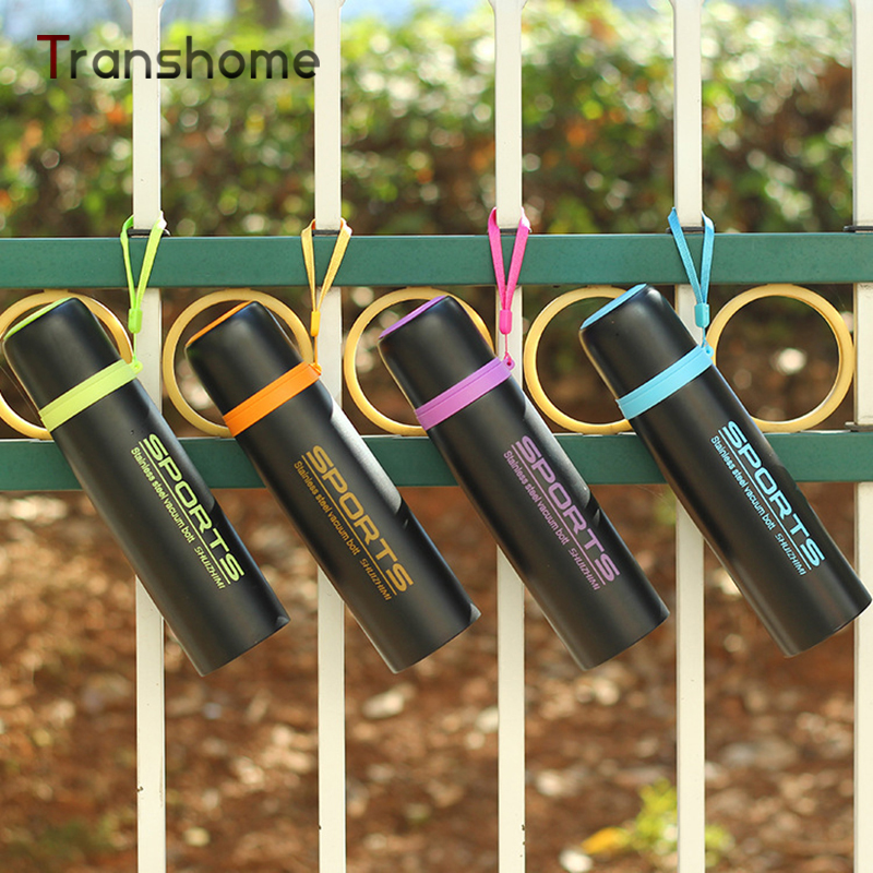 2016 New Thermos My Insulation Bottle Thermocup Vacuum Flask Tour Sports Stainless Steel Water Bottle Transhome
