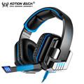 Nueva Cada G8000 PC Gamer Wired Gaming Headset Bass Cancelación de Ruido Auriculares Estéreo con Control de Volumen del Micrófono Oculto Para El Ordenador