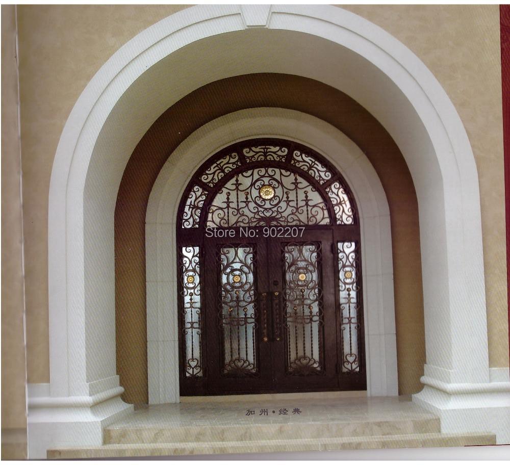Metal Entrance Doors Cast Iron Entry Doors