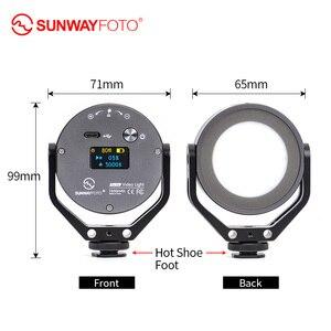Image 5 - SUNWAYFOTO FL 54 pierścień aparatu światło oświetlenie fotograficzne Fotografia lampa do zdjęć led wideo lampa leddo smartfona do youtube studio Photo
