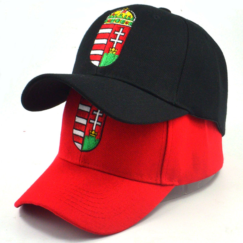 2018 new style Hungarian national emblem embroidery   baseball     cap   adjustable cotton snapback hat high quality casual   caps   fashion