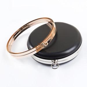 Image 3 - BDTHOOO 18ซม.โลหะClaspsอาหารค่ำรอบกล่องกระเป๋ากรอบจับสำหรับDIYกระเป๋าถือKiss Twisted Lock Buckle Toneกระเป๋าอุปกรณ์เสริม