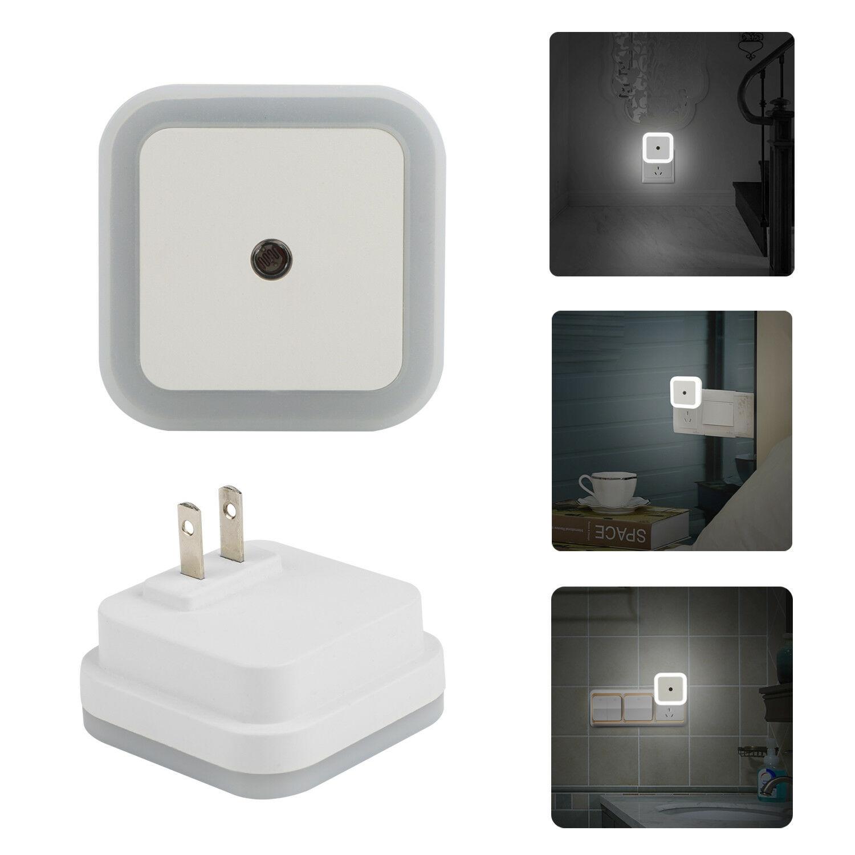 Mini LED Night Light Sensor Control Night Light 110V 220V EU US Plug Energy Save Lamp For Living Room Bedroom Lighting Baby Gift
