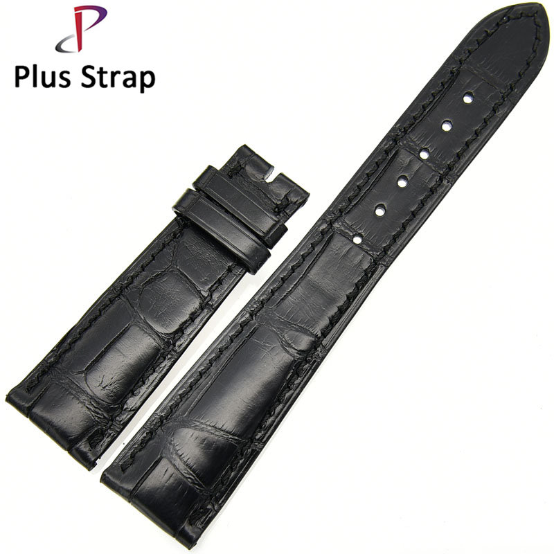 Watch Band for Patek Philippe Watches Strap Replacement Alligator Skin Genuine Leather Bracelet Men&Women Wristband no Buckle alligator skin genuine leather watch band strap for omega watches accessories 16 mm 18 mm men bracelet wristband no buckle