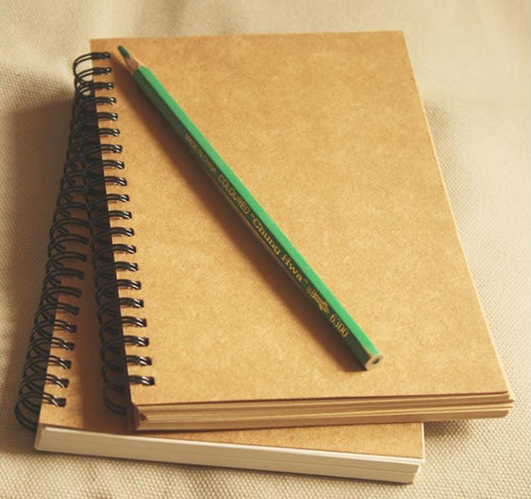 32 К Ретро Эскиз Бумаги Пустой Блокнот Эскиз Чертежная Книга Журнал Личный Дневник Примечание Канцелярские 01604