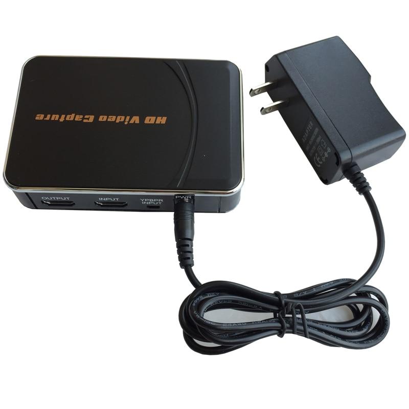 Carte de capture de jeu HD 1080 P 30fps, convertissez l'audio vidéo de XBOX One 360 PS3 PS4 en disque Flash USB. Micro & YPbPr enregistrer ensemble