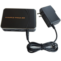 HD 1080P 30fps Game Capture Card Convert Video Audio From XBOX One 360 PS3 PS4 To