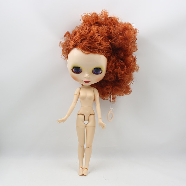 ICY Neo Blythe Doll Red Hair Jointed Body 30cm