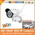 960 P Пуля Ip-камеры Wifi 1,3-мегапиксельной Motion Detection Открытый Водонепроницаемый Мини Белый Веб-Камера Видеонаблюдения CCTV Freeshipping