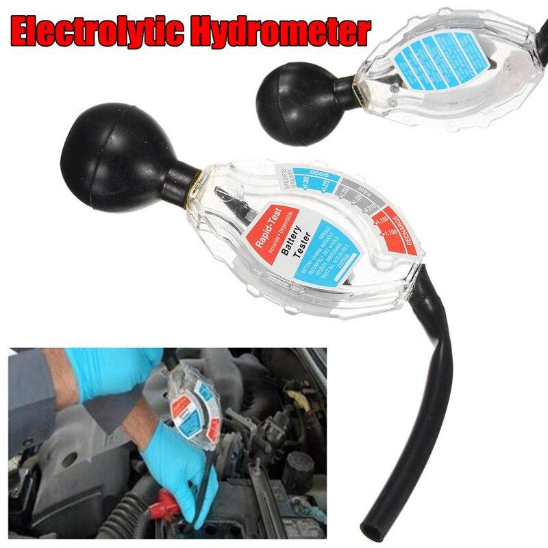 Batterie Tester Elektronische Anzeige Last Auto Hydrometer Dichte Van Bike Ebene Stromversorgung Meter-Checker