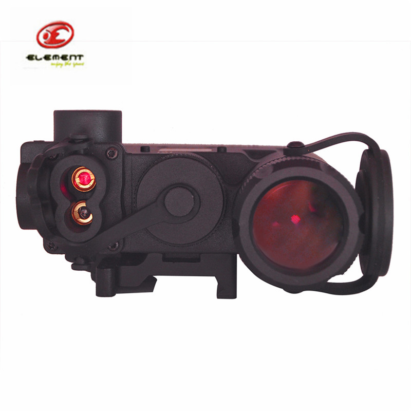 Element Tactical DBAL-D2 Airsoft Military Battery Case Red Dot Laser with LED Flashlight and IR illuminator