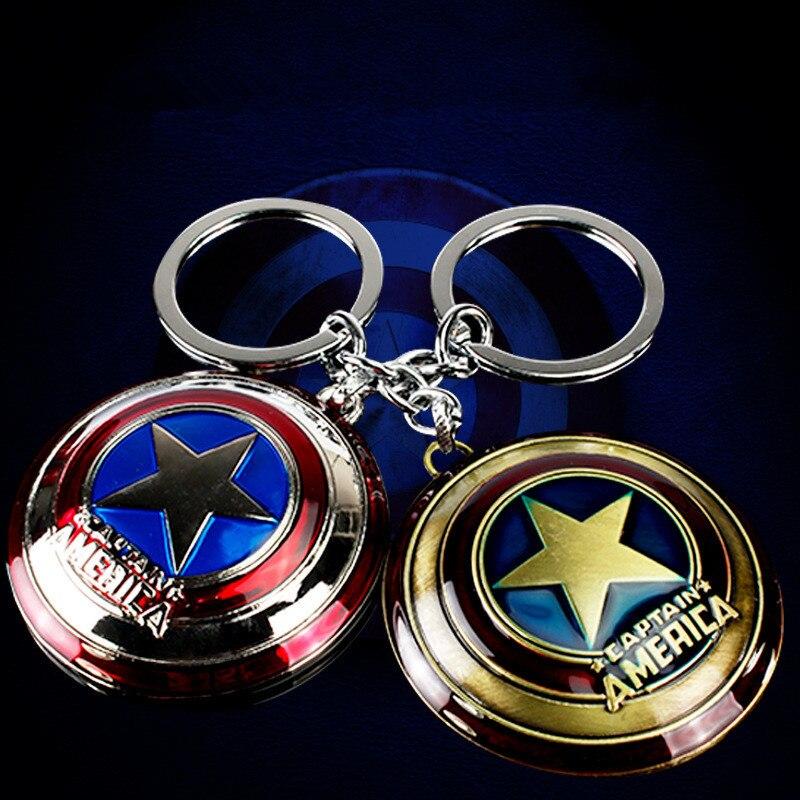 Captain America Figurine Keychain Figure Key Chain Made by Yolanda SHMVK403