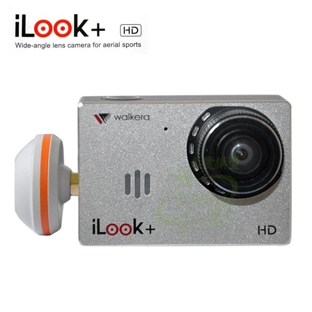 2017 New Walkera iLook 1080P 60fps HD Resolution 150 degree wide angel FPV Sport Camera with Mushroom Antenna Support SD Card walkera g 2d camera gimbal for ilook ilook gopro 3 plastic version