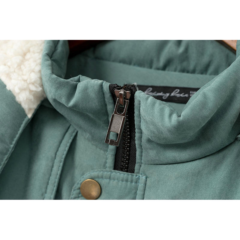 Xxxl Nouveau green Coton Black Manteaux Plus long Casual Veste Moyen Parka D'hiver Femmes À Capuche Neige Taille Épaisseur Outwear Couette Ouatée wwpfZq