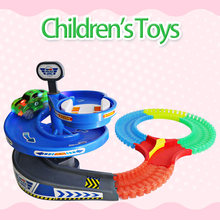 Magical Track Miraculous Glowing Race Track DIY track Accessories Educational Toy Cars Children's Toys For Boys Gifts(China)