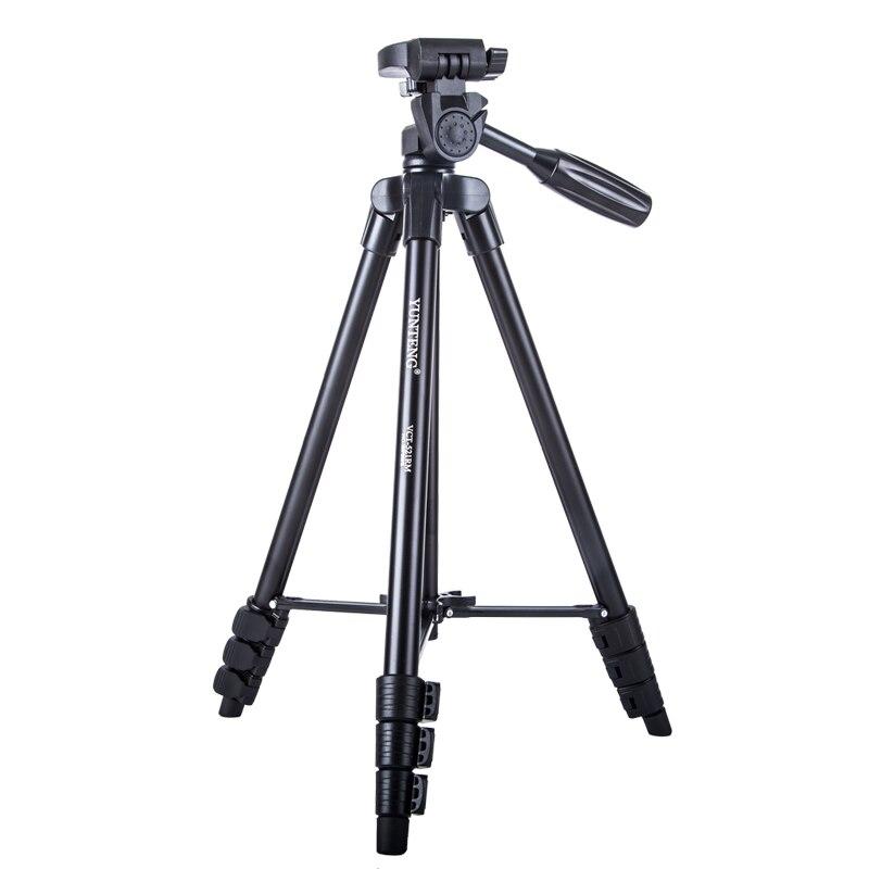 YUNTENG 521 Professional Camera Tripod Flexible Tripod for Digital DSLR SLR Camera for Nikon Canon Sony