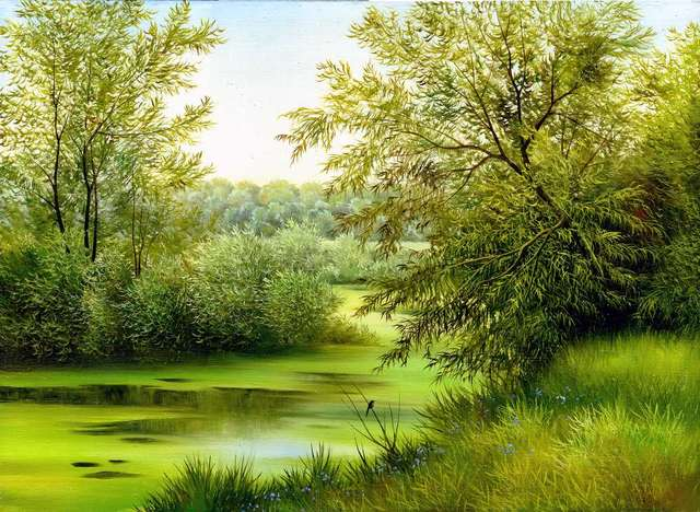canvas art nature painting wallpaper buy landscapes painting hd
