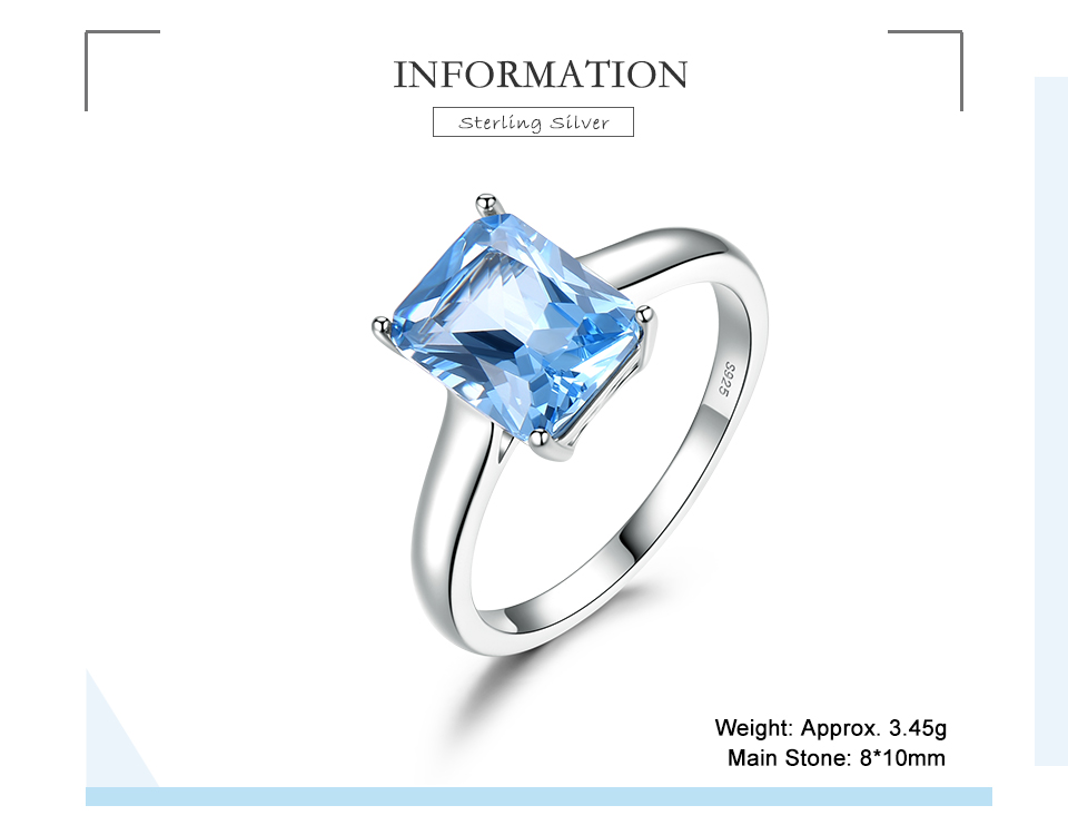 UMCHO ?Nano Sky Blue Topaz 925 sterling silver ring for women RUJ094B-1-pc (2)