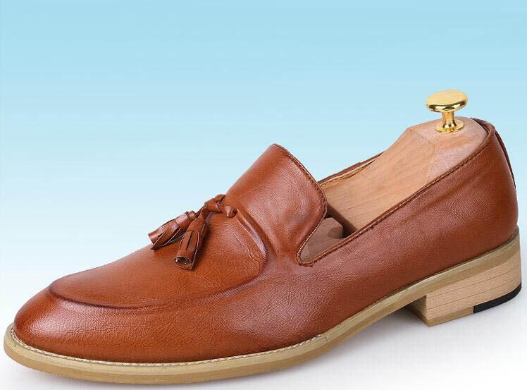 3 Festa Baile Oxfords Sapato Sapatos Masculinos Regresso Recente De Apontou Calçados Finalistas Vestido Casamento Do Men Zapatos 1 Social Chegada Mais Casuais A 2 Borlas Casa wxnFq4PnR6