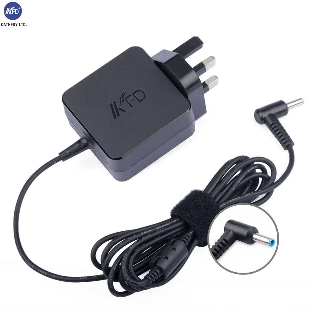KFD Authorized 19V Charger For Pour HP Spectre Series UK Standarded 4,5*3,0MM For HP Adapter TUV CE Approvels Free Shipping