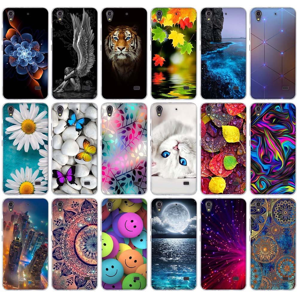 Soft TPU Case for <font><b>Huawei</b></font> Ascend <font><b>G620S</b></font> G621 C8817E/D Honor Play 4 Case Silicone Back Cover Phone Case for <font><b>Huawei</b></font> Honor Play 4 Bag image