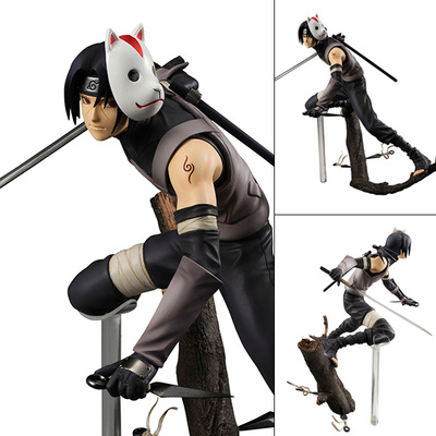 Hot-selling 1pcs 20cm pvc Japanese anime figure Naruto Uchiha Itachi action figure collectible model toys brinquedos free shipping japanese anime naruto hatake kakashi pvc action figure model toys dolls 9 22cm 013