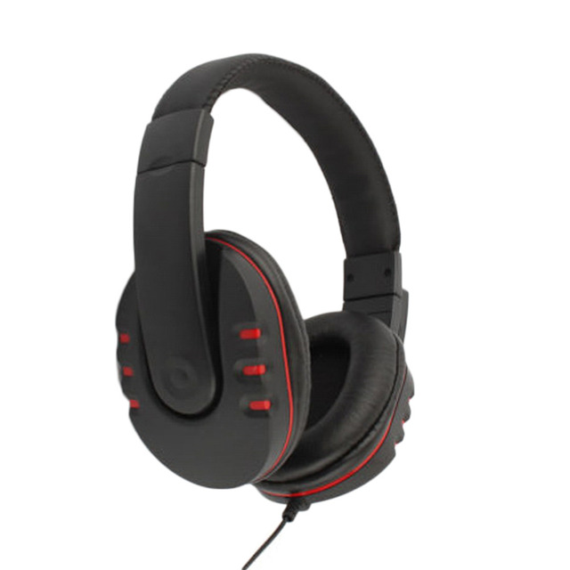 Headset Headphone w/mic for Xbox 360 for Xbox360 Live Wireless Controller Black & Red Wholesale