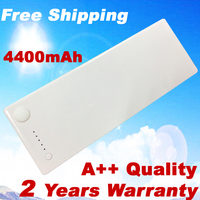 6 Cell Laptop battery for Apple MacBook 13 inch A1181 A1185 MA561 MA566 white Free shipping