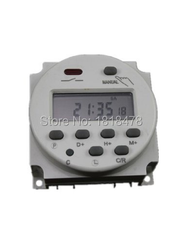 CN101A DC12V Digital LCD Programmable Timer DC 12V 16A Time Timer Relay Switch new digital lcd programmable timer 12v dc din rail time relay switch power drop ship