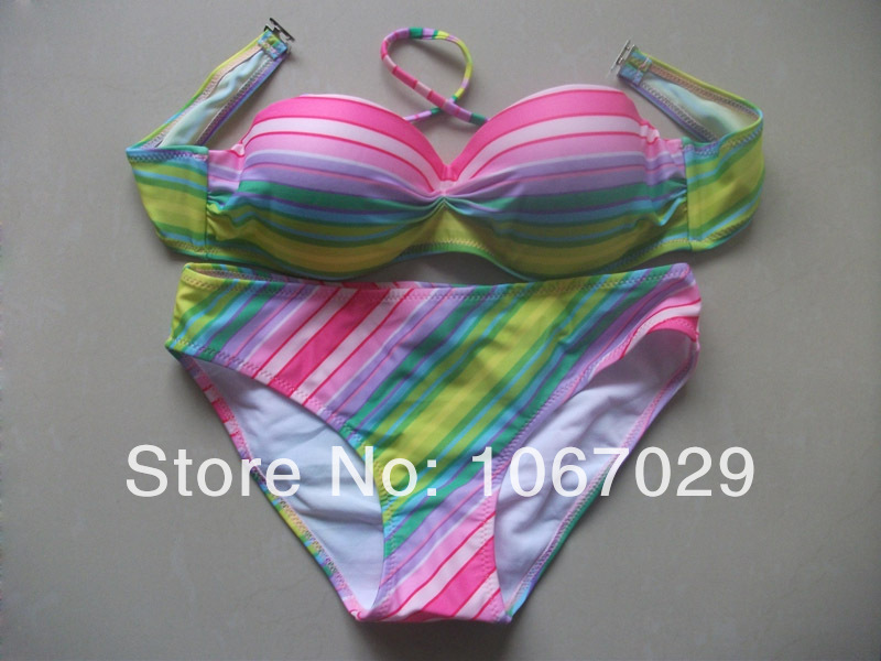 2f1e4a4fb916a Dropshipping Free Shipping discount bikini ruffle bikini womans swim wear  push up bathing suit tops underwire swimwear top on Aliexpress.com    Alibaba Group