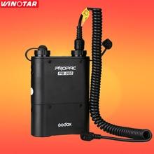 Godox pb960 de flash power pack batería (negro) 4500 mah + cable de alimentación cx para canon godox yongnuo flash speedlite
