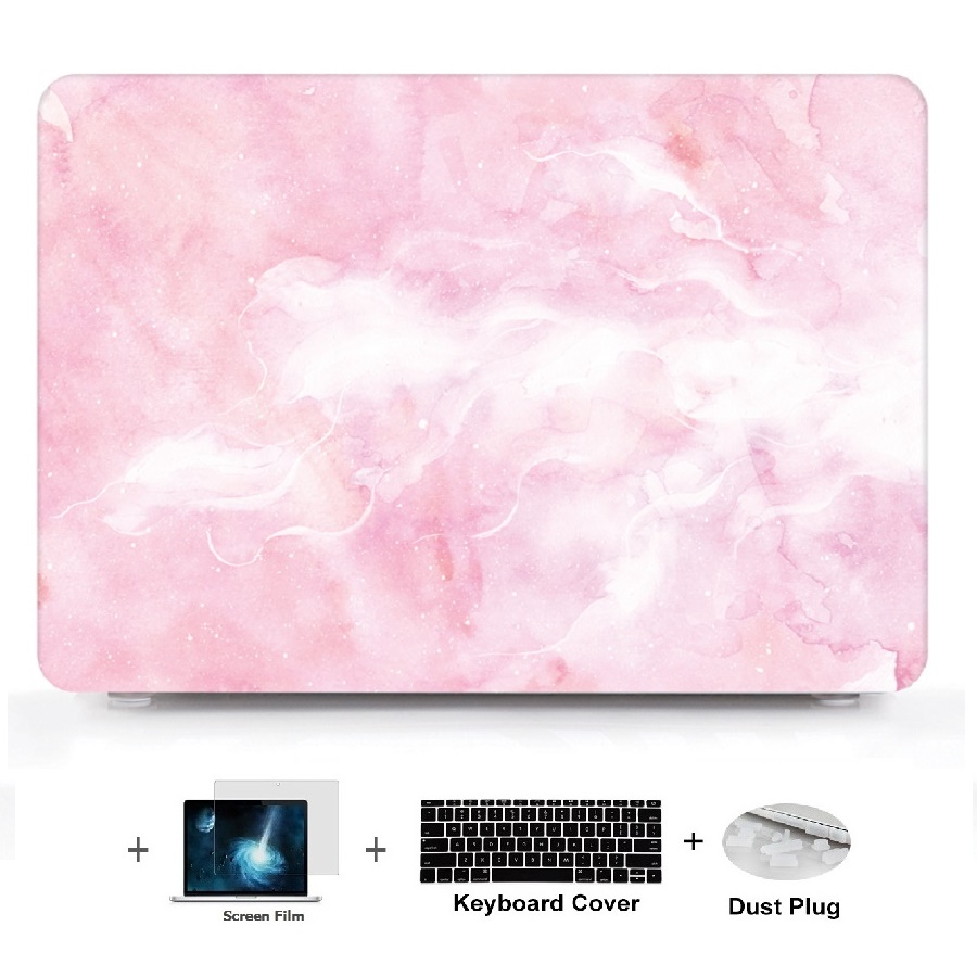 4in1 Marble Pattern Laptop Hard Shell Case Keyboard Cover Skin Set Pouch For font b Macbook