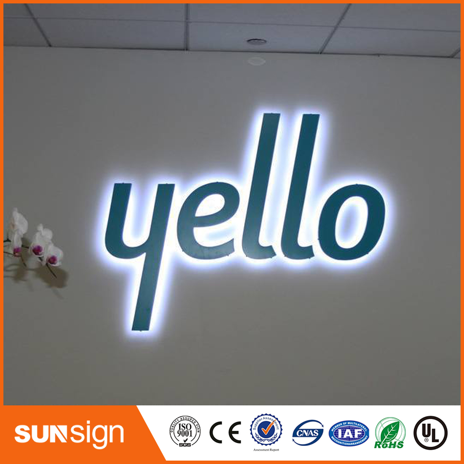 3D Illuminated Letters Signs For Advertising