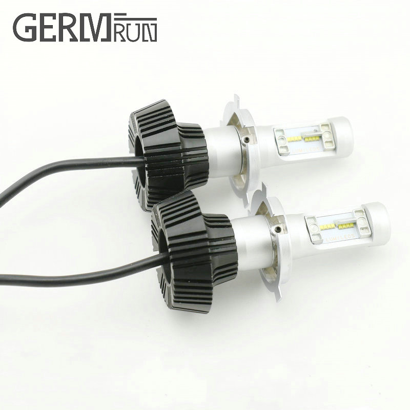 12V LED Light Auto Headlamp H1 H3 H7 9005 9004 9007 H4 H15 Car Led Headlight Bulb 30W High single Dual Beam White Light newest h4 led car headlight h1 h8 hig led light 9005 9006car led headlight bulb auto headlamp lamp high low beam white lighting
